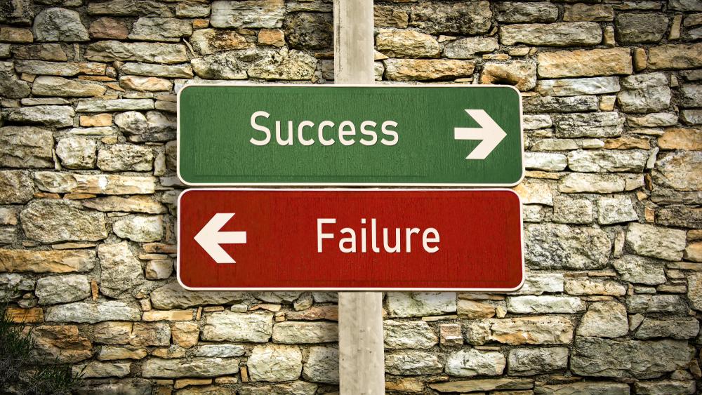 Sucesso x Fracasso: como garantir um e evitar o outro